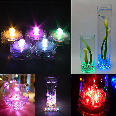 New 3/6/12/24/36 Waterproof LED Tea Light Flameless Candle Wedding Party Home BG