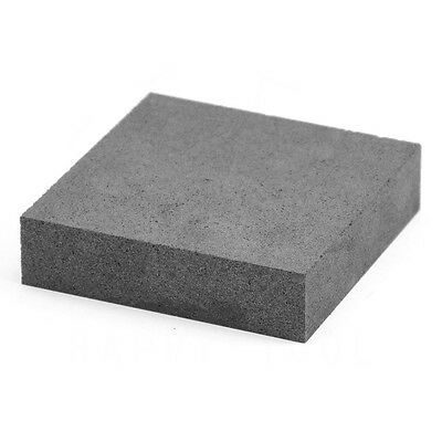 100*100*25mm High Purity Graphite Block Electrode Rectangle Plate Blank Sheet