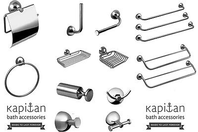 Stainless Steel Bath Accessories Classic Wall Mounted Bathroom Set ''Classic''