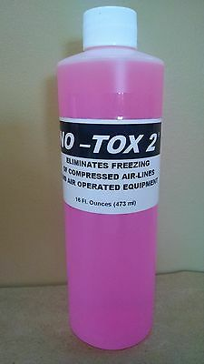 Tanner Systems NoTox2 Compressed Air Antifreeze Compound 16 oz Bottle