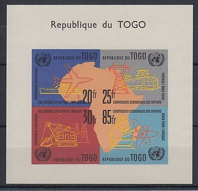 Togo 1961 ** Bl.6 UNO Vereinte Nationen United Nations Schiff Ships [sq4670]