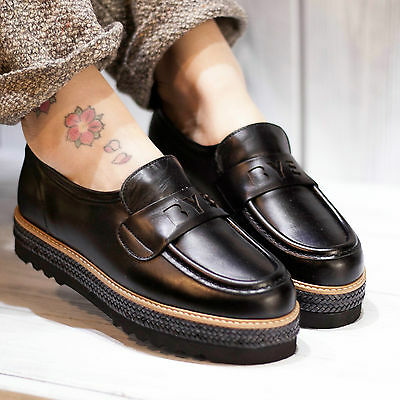 Farewell Shoes Mocassin Gaucho Negro