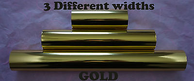 Gold Toner Foil Craft Cards Laser Printer Heat Transfer Laminator Hot Foil