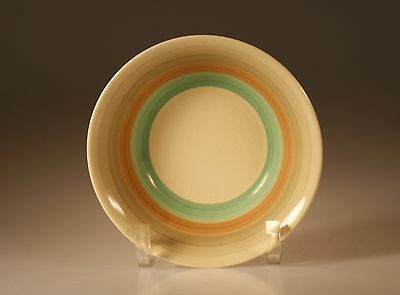 Vintage Susie Cooper Wedding Rings Green Soup Bowl, Made In England, c. 1930