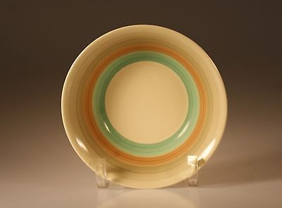 Susie Cooper Wedding Rings Green Cereal/Oatmeal Bowl  Made In England c.1930