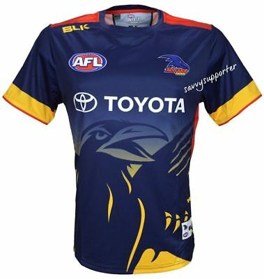 Adelaide Crows 2016 Run Out Tee 'Select Size' S-7XL BNWT