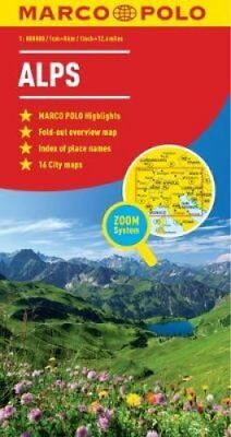 Alps Marco Polo Map by Marco Polo (Sheet map, folded, 2011)