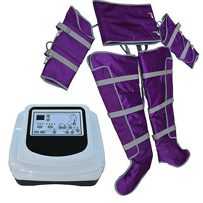 Air Pressure Pressotherapy Lymph Drainage Body Shapping Detox Slimming Machine