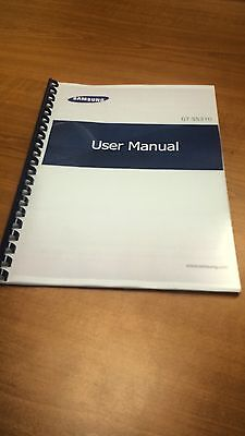 Samsung Galaxy Ace 3 Gt- S7270 Printed Instruction Manual Guide 116 Pages A5