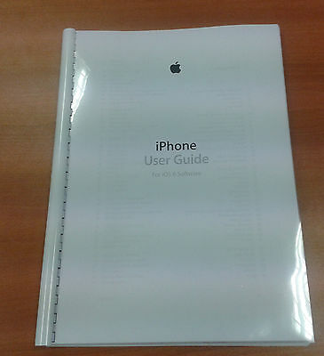 Iphone 5 Full Printed User Manual Guide Instructions 156 Pages Ios 6 A5