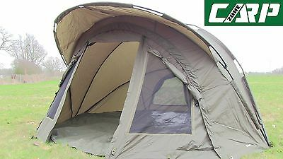 Carp-Zone Hurricane A.S (All Season) One Man Bivvy with Overwrap, Carp Fishing