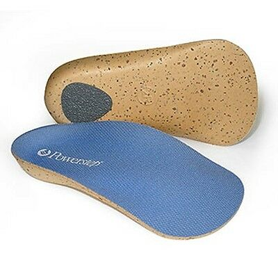 Powerstep FlexiArch 3/4 Orthotic Arch Supports, #5 Men's 10.5 - 11.5