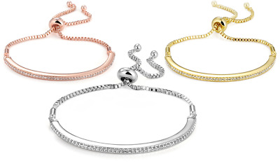 Friendship Bracelet with Crystals from Swarovski® in Gift Box