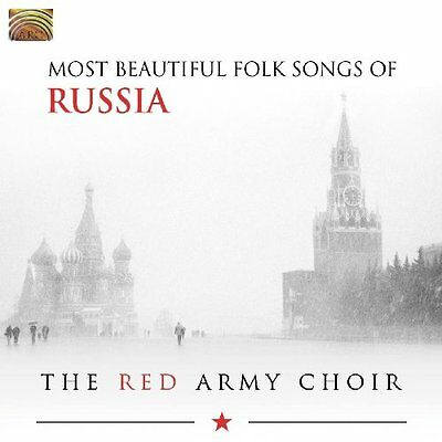 Most Beautiful Folk Songs Of Russia - The Red Army Choir - Audio CD (E2q)