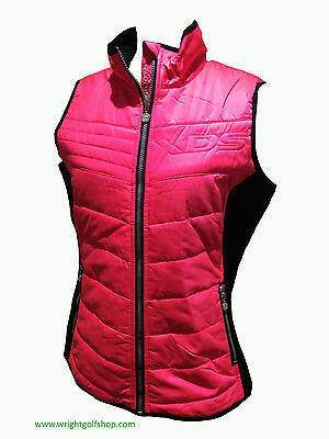 **NEW** DAILY SPORTS 'ALISSA' GILET  size EXTRA LARGE  colour SWEET PINK