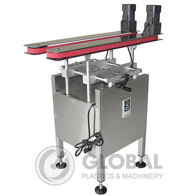 Hugger Belt Side Grip Bottomless Transfer Conveyor Side Belt  for Bottom Coder