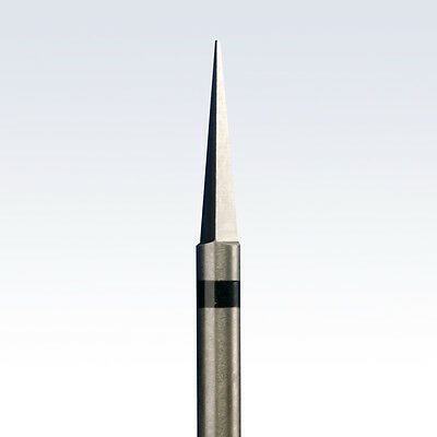 Tungsten Carbide Cutter/Burr PEAK with very large criss-cross toothing