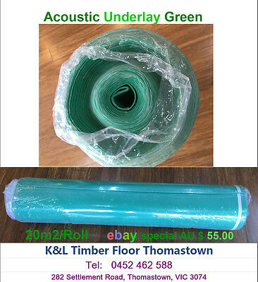 Underlay Acoustic / Flooring Installation/floating floor underlay/Rubb underlay