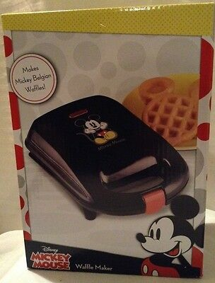 New Adorable Disney's Mickey Mouse Waffle Maker, Makes Mickey Belgian Waffles