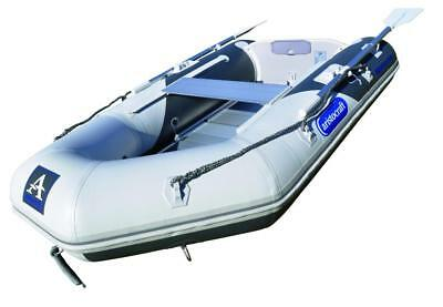 Inflatable Boat Sports Craft 4 Person Bay Runner 290 Aristocraft