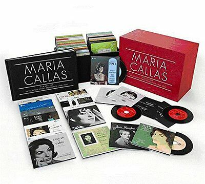 The Callas Complete fully remastered edition in original jacket 69CD Mono/Stereo
