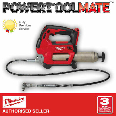 Milwaukee M18GG-0 M18 Cordless Grease Gun - Naked - Body Only - M18GG