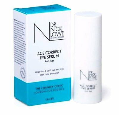 Dr Nick Lowe London Nourishe Moisturise Eye Serum Skin Treatment 15ml