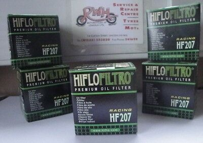 LML 200 Star 4T HifloFiltro Oil Filter x 5 pack 2011 to 2015 HF207