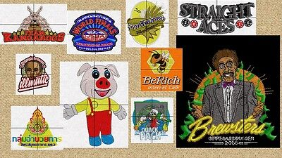 Custom Digitizing Service For Your Embroidery