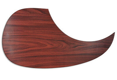 Wood FX Acoustic Guitar Pickguard MAHOGANY CUSTOM Self Adhesive Scratchplate