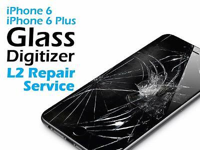iPhone 6+ 6 Plus Cracked Screen Glass Replacement Repair Service
