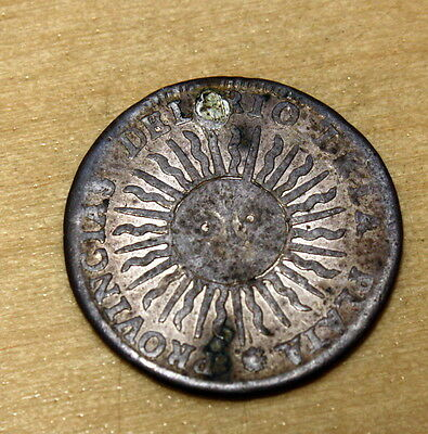 1815 Argentina 1 Real Silver KM# 2 Ex-Jewelry