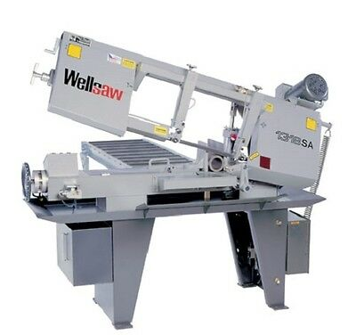 "Wellsaw 1318-SA 13"" x 18"" Semi-Automatic Band Saw Made in USA"