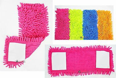 2xExtendable Microfibre Floor Mop Cleaner Sweeper Wooden Laminate Tile Wet Dry