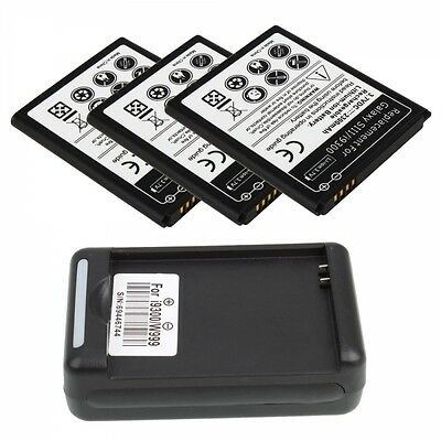 New 2300mah Battery + Charger for Samsung Galaxy SIII S3 i9300/I9082/I9308