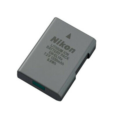 Nikon EN-EL14A Genuine Camera Battery with AUST NIKON WARRANTY
