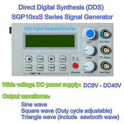 New 5MHz DDS function signal generator/ frequency meter/square wave pulse tester