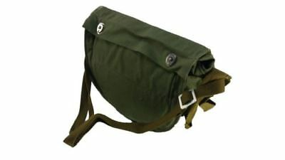 Soviet Russian army  surplus canvas  Military Shoulder Gas Mask Bag  Hard cover