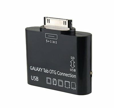 "Samsung Galaxy Tab 10.1 & 7"" Tablet 5 in 1 USB Camera OTG Connection Kit"