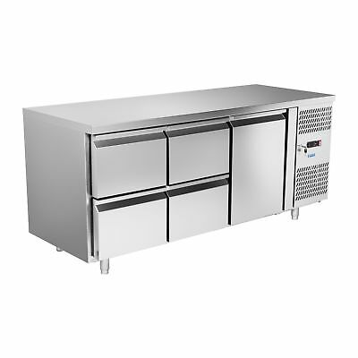 Commercial Fridge Pizza Counter Refrigerated Sandwich Prep Table Food Cooling