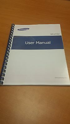 Samsung Galaxy Grand 2 Duo G7102 Printed Instruction Manual Guide 129 Pages A5