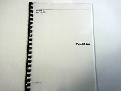 Nokia Lumia 530 Printed Instruction Manual User Guide 105 Pages A5