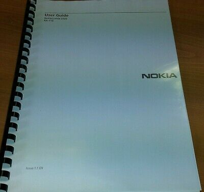 Nokia Lumia 2520 Fully Printed Instruction Manual User Guide 67 Pages A5