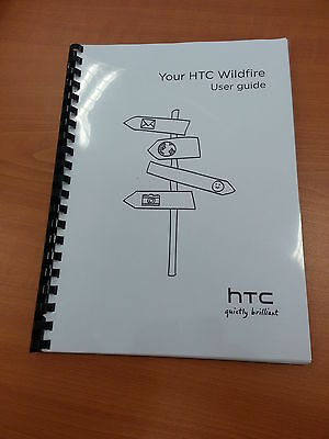 Htc Wildfire 188 Pages Full Printed User Manual Guide A5