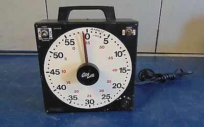 GRA-LAB 1 Hour Univerersal Timer With Two Outlets  Model 171 Works Good S1840