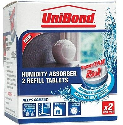 UniBond Humidity Absorber Refill Small 300g Damp Mould Prevention Condensation