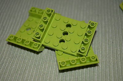 LEGO Bricks 100 Lime Round Plate 1x1 One Studs Part 4073 Ninjago Galaxy Squad