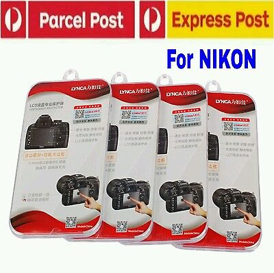 Lynca Japanese Tempered Glass Screen Ptotector For Nikon Dslr Premium Au Stock