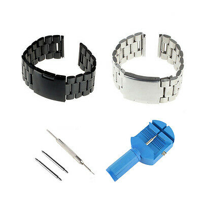 22mm Stainless Steel Watch Band Strap For Asus Zenwatch / 49mm ZenWatch2
