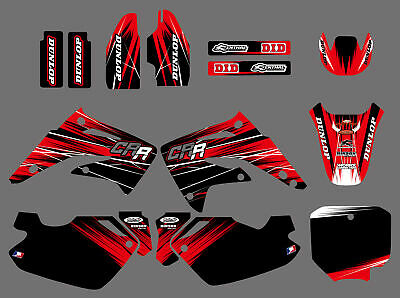 Team Graphics Decals For Honda Cr85 2003 04 05 05 06 07 08 09 10 11 12 D07